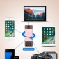 �O果iphone7 6s手�C高速�x卡器TF卡SD卡多功能相�C兼容安卓